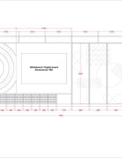Teacher Wall - Design A Front