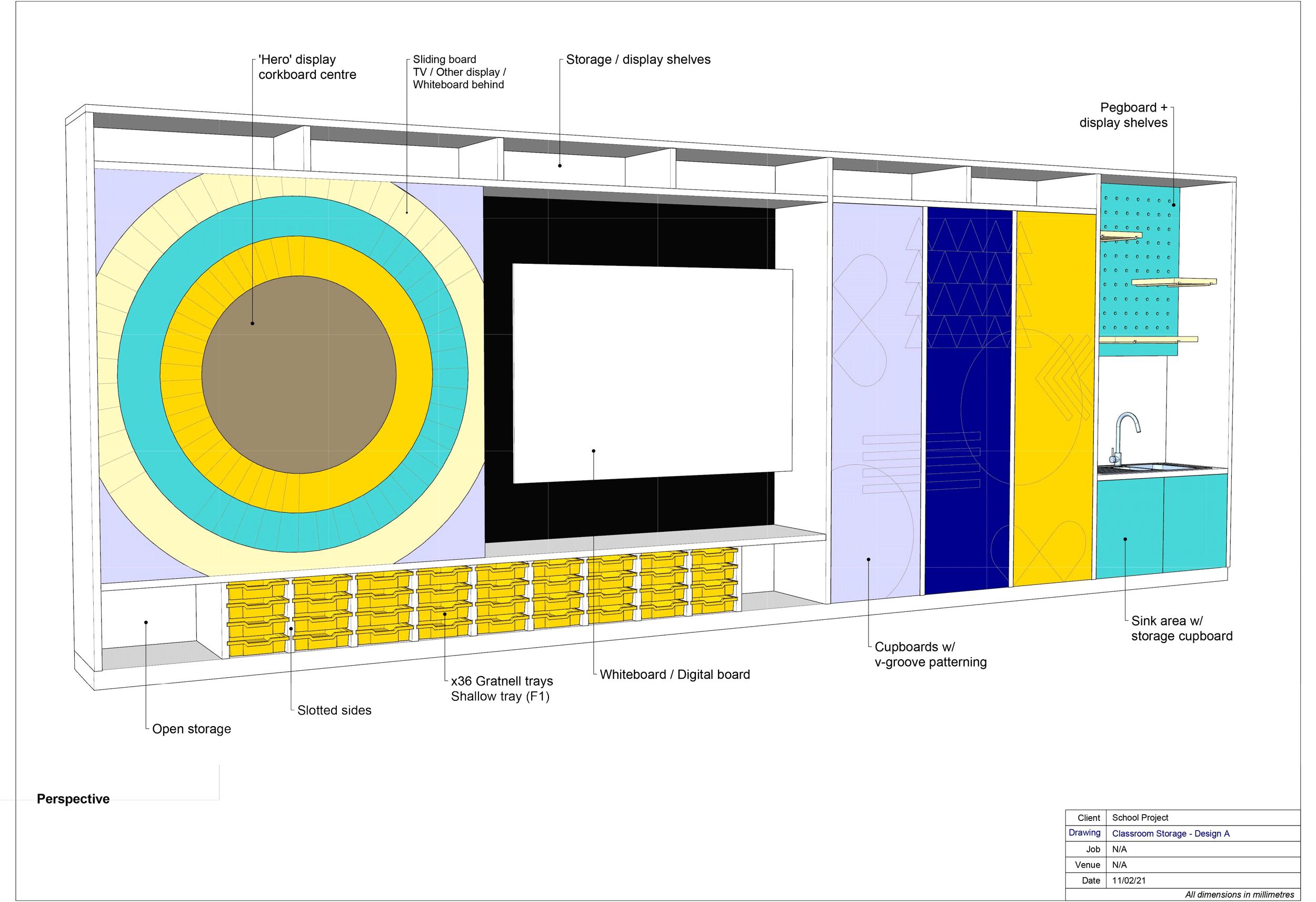 Teacher Wall - Design Option A
